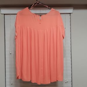 The Limited Blouse w/ Pleated Back Size:XL